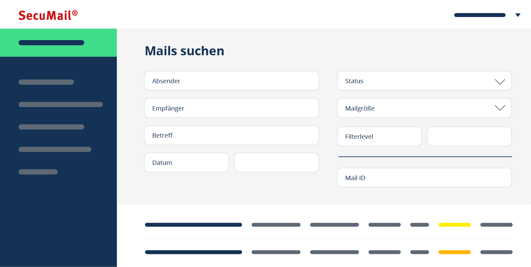 Das neue Portal: neue Funktionen, übersichtlicher, besser organisiert